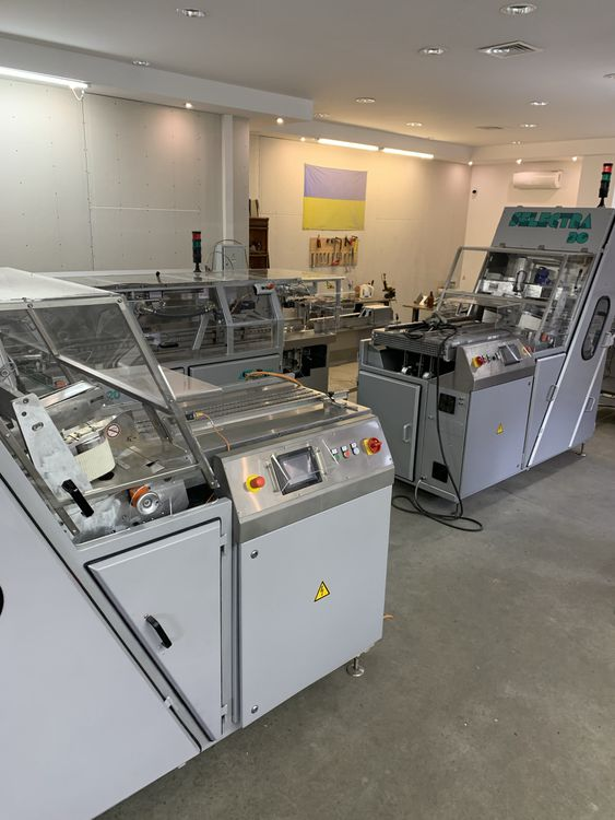 2 Hartmann Bread packing and slicing line GHD Hartmann GBK-420 packing machine and SL-30 slicing machine Overhould Bread slicing and packing line