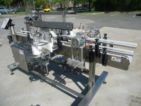 Ketan LS80, AUTOMATIC PRESSURE SENSITIVE FRONT & BACK LABELING SYSTEM