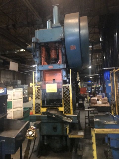 Danly Geared OBI Press 150 Ton