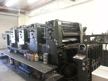 "Heidelberg SM 102VP, Offset 4 Colours Press Machine 28 x 40"""
