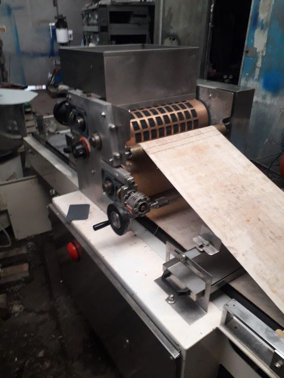 Padovani Rotativa series 99 ROT 4507 Rotary roll forming machine for biscuits