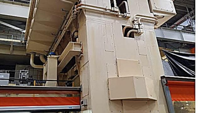 Schuler Double Action Automatic Block Hydraulic Press 2200 Ton