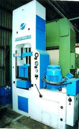 Becker & Van Hullen Max. 63 Ton Hydraulic press