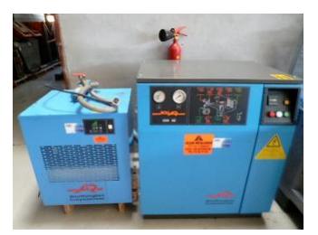 Worthington CREYSSENSAC RLR 1500 AE 4, Compressor