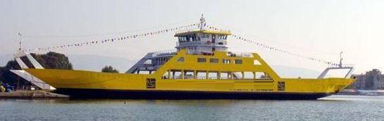 Double Ended Landing Craft Passenger Ferry DWT:  659