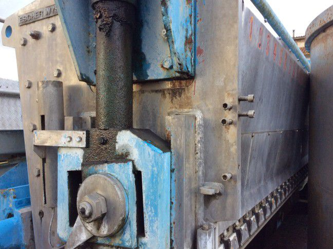 Escher Wyss Hydraulic Headbox 5550 mm