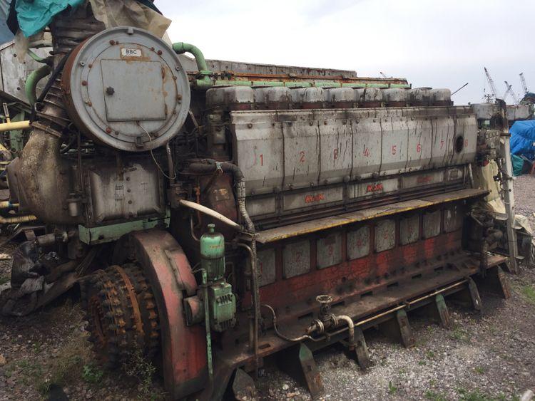 Mak 8M453C MArine Engine