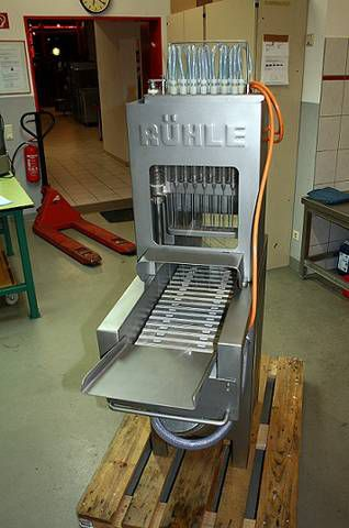Ruhle PR 15 Curing machine