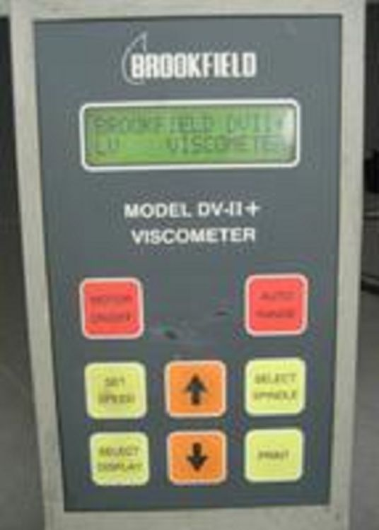 Brookfield DV-II+ Viscometer