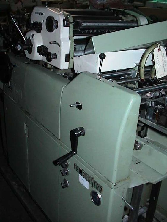 Hamada 550 CDA, 2 colors Offset machine