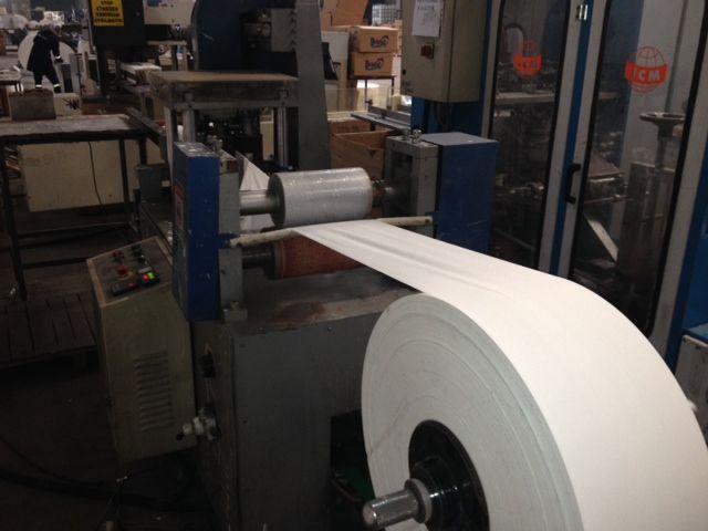 3  Napkin machine 24 cm, no print unit