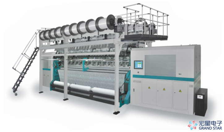 "100000 Others GSTL 43/1F Multibar Computerized Jacquard Warp Knitting Machine 134"""