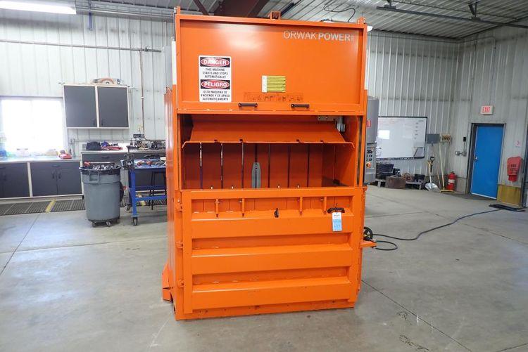 Orwak Power 3820 baler