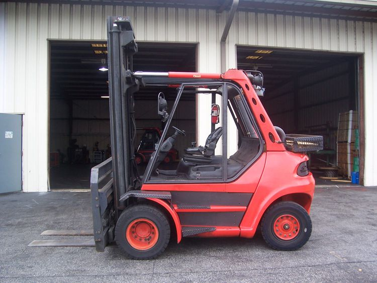 Fenwick H60 LP Gas Forklift 7,000 kg.