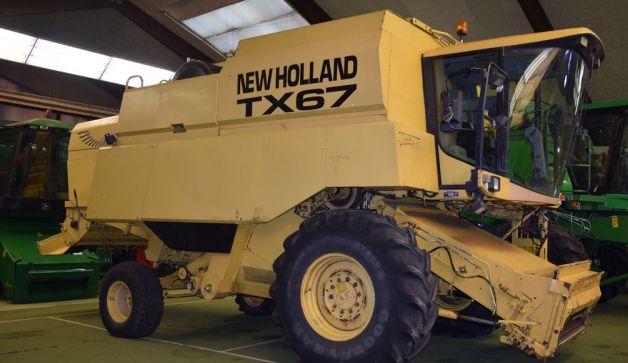 New Holland Combine