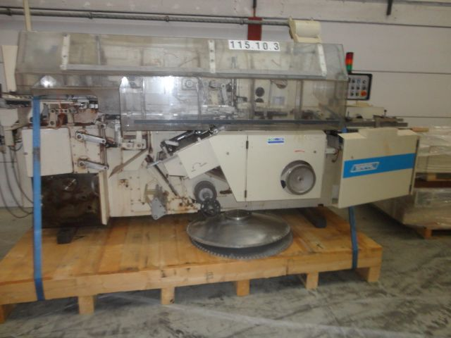 Sapal SC4T 2 stage  chocolate bar wrapping machine