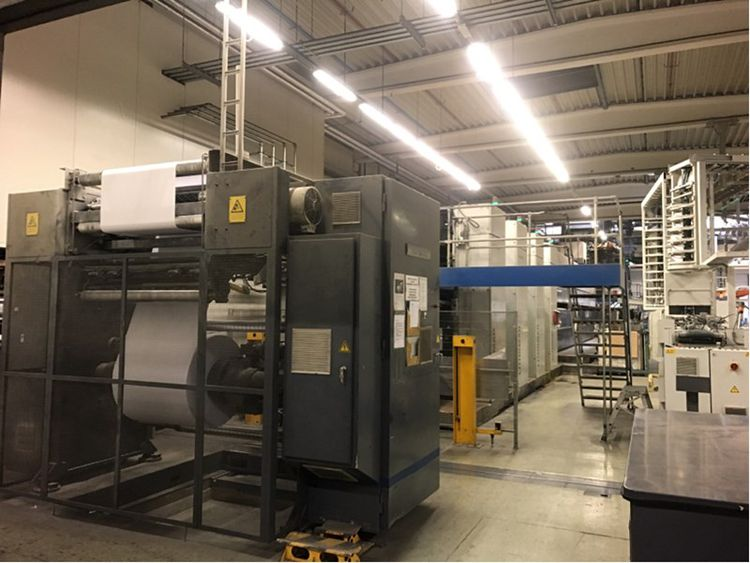 Troostwijk Auction of complete offset rotary printer Hoorens Printing nv in bankruptcy (BE)