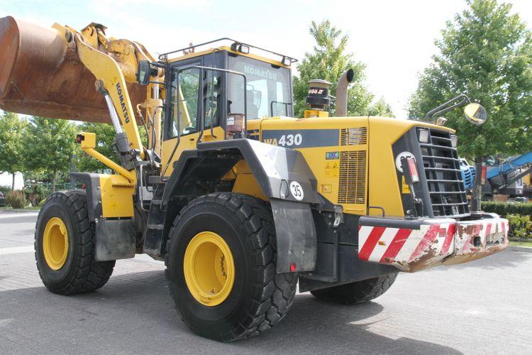 Komatsu WA430-6 Wheel loaders