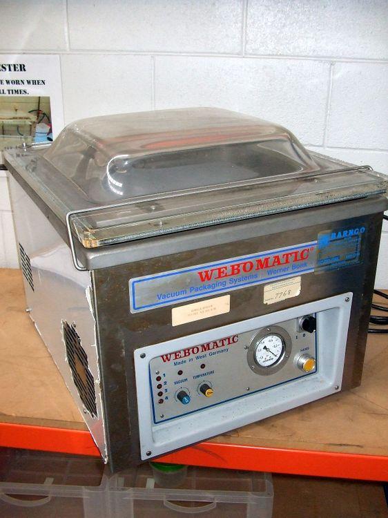 Webomatic E10H BENCH TOP VACUUM PACKER