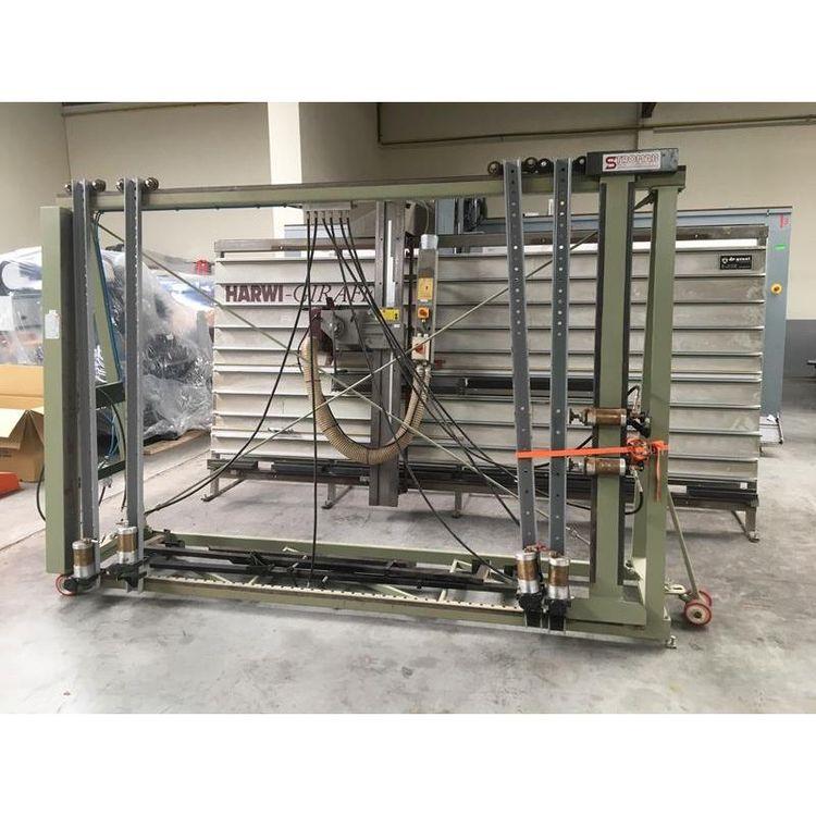 Stromab STP 2500 - ORM, Machining frame press