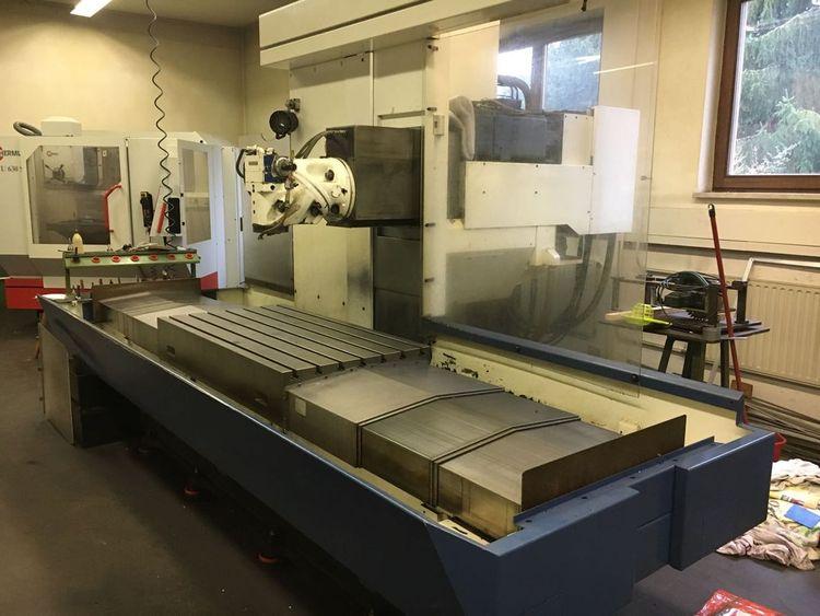 Huron GXB 411 F Bed type milling machine 3150 rpm