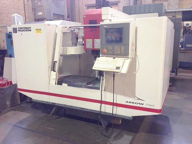 Cincinnati ARROW-750 CNC VERTICAL MACHINING CENTER 3 Axis