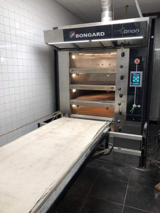 Bongard Orion E 801/5 Deck Oven