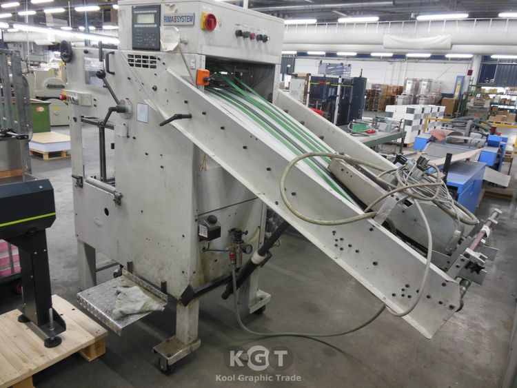 Rima RS 3313, Compensating book stacker