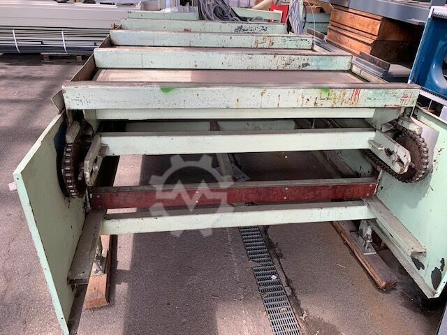 Grecon Fan table for finger jointing machine