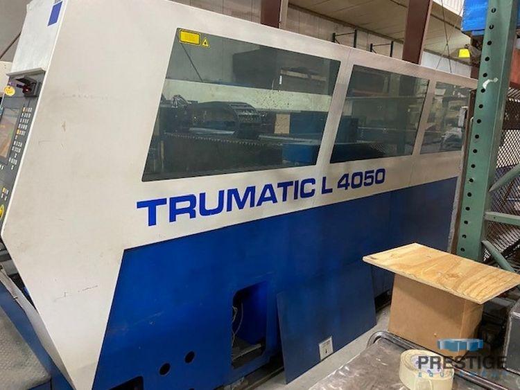 Trumpf L4050 CNC Control