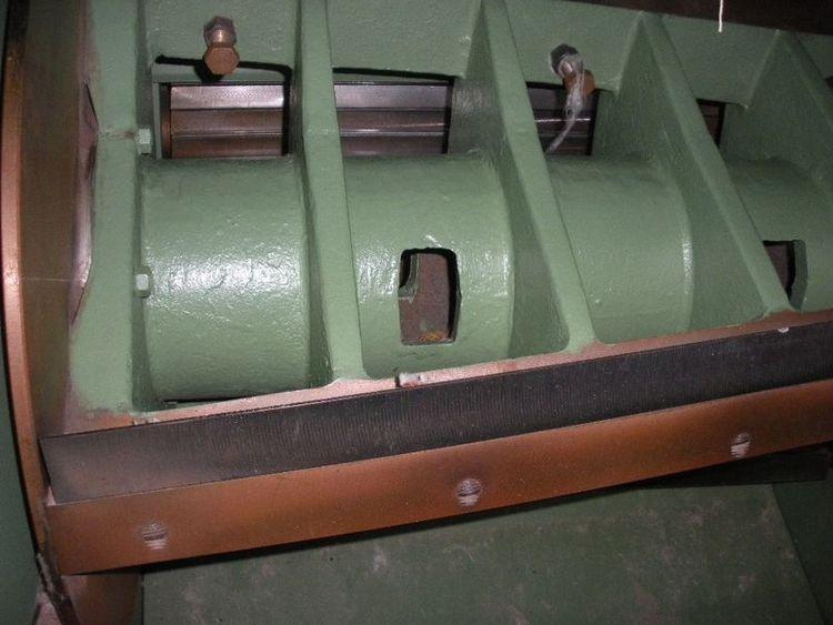 Rolando RL-14 rotary cutter, yoc: 2000, ww: 800 mm