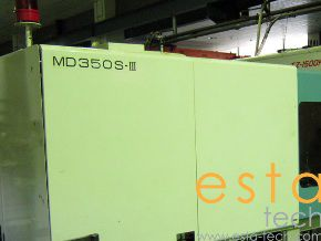 Niigata MD350S-III, PLASTIC INJECTION MOLDING MACHINE 350 Ton