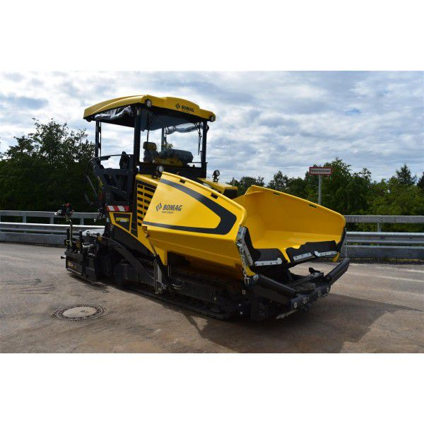 Bomag Tracked Paver