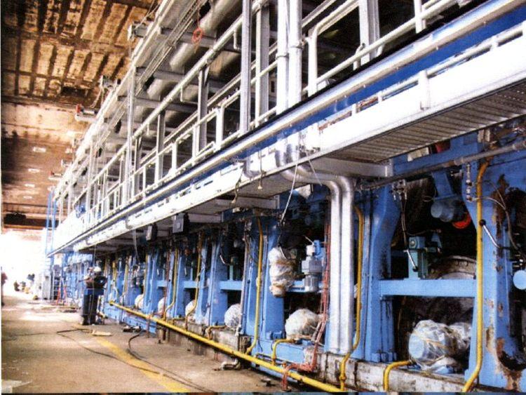 9 Valmet Dryer Cylinders Dia 1500 mm - Face: 2850 - 2950 mm