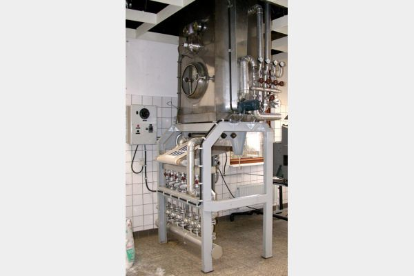 Brugman Continuous Steamer