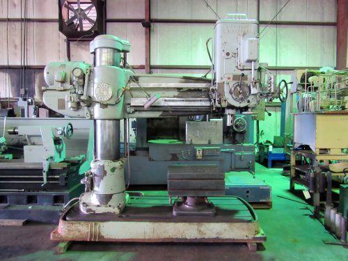 Cincinnati BICKFORD SUPER SERVICE RADIAL ARM DRILL 2300 rpm