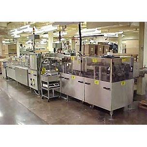 MGS Complete Vial Packaging and Cartoning Line