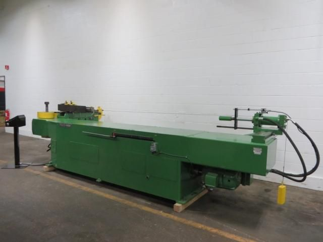 "Pines 6"" #4 horizontal mandrel type tube bending machine"