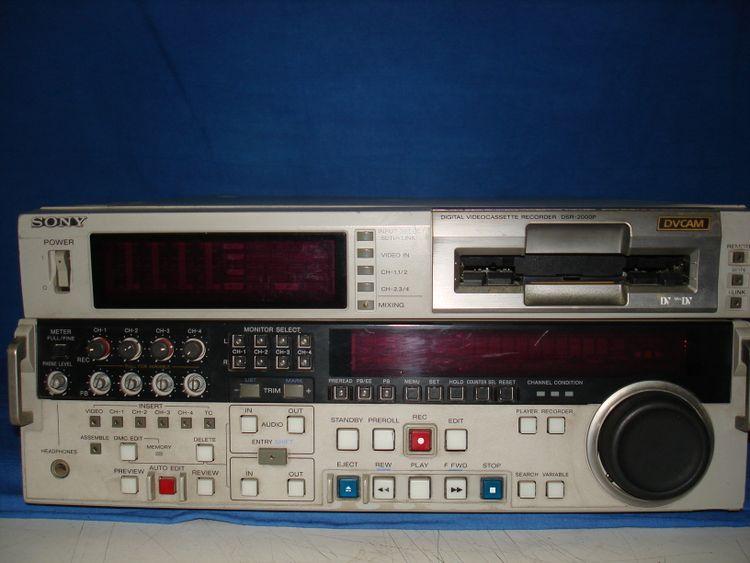 Sony DSR 2000P DVCAM recorder