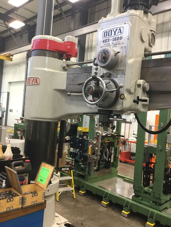 Ooya RADIAL DRILL RE3-1600 2180 RPM