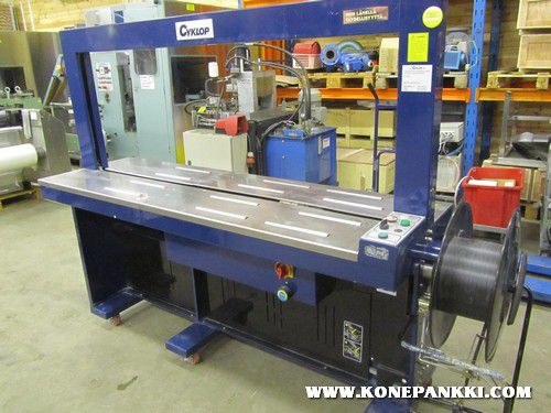 Cyclop Fully Automatic Strapping Machine 650 mm x 1600 mm x 400 mm