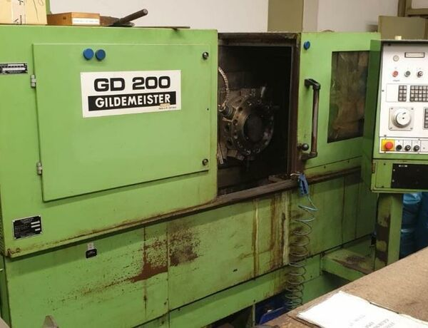 Gildemeister EPM Variable GD 200 2 Axis