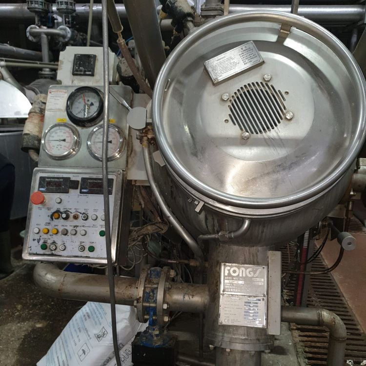 3 Fongs ECO-88 HT dyeing 150, 300 Kg