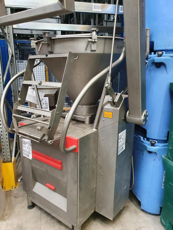 Karl Schnell 588 and 343 Vacuum filler with inline grinder