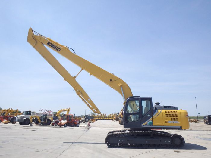 Kobelco SK260LC-10 Long Reach Excavator