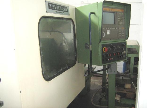 Weisser-Heilbronn SIEMENS SINUMERIK 810 T Max. 2250 U/min JUNIORMAT 2 Axis