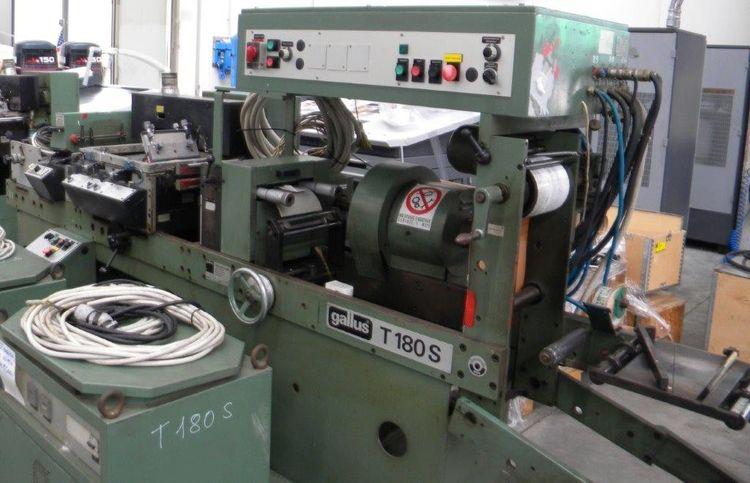 Gallus T180S, Label Printing Machine