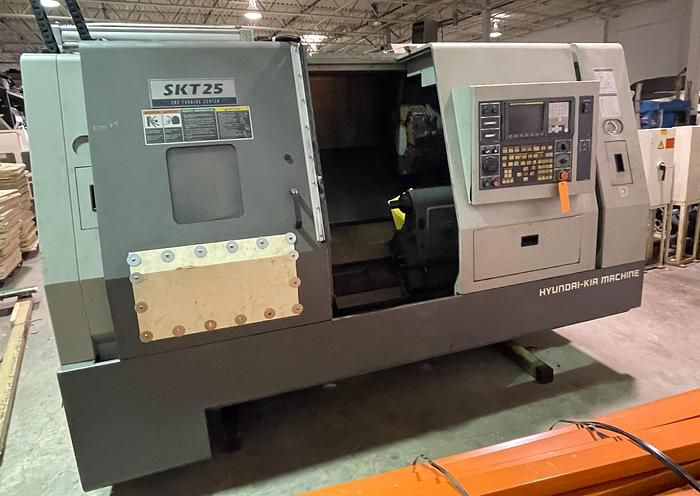 KIA FANUC Oi-TB CNC CONTROL 3600 RPM SKT 25 CNC TURNING CENTER 2 Axis