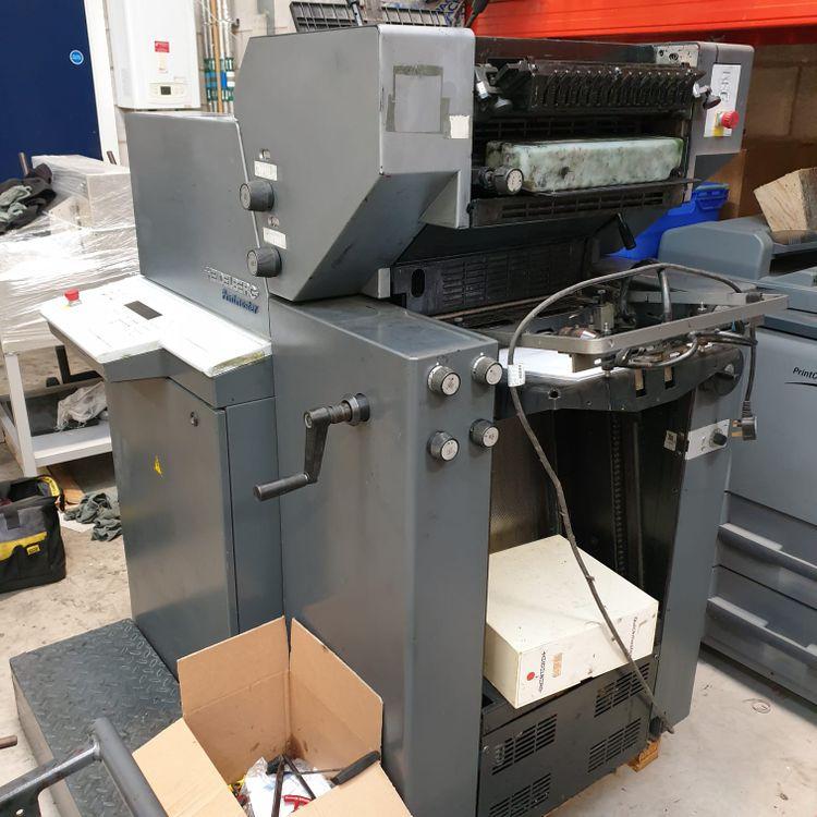 Heidelberg Printmaster QM 46 2 Colours 340 x 460 mm.