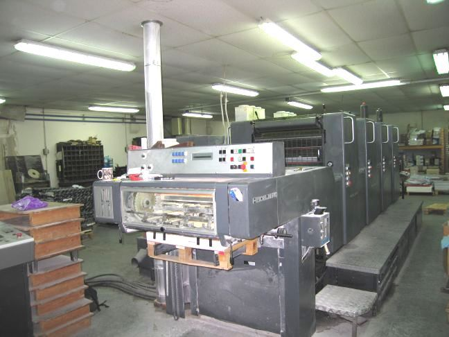 Heidelberg MOVPH 4 colors